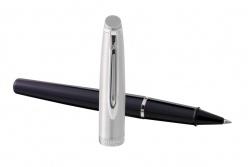 2100378, 2157232 Waterman Embleme Ручка роллер    цвет BLACK CT, цвет чернил: черный