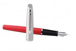 2100404, 2157260 Waterman Embleme Перьевая ручка  RED CT перо тонко (F) в подарочной коробке