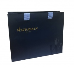 2068196cover2 Waterman Graduate Подарочный набор Перьевая ручка   ALLURE, цвет: черный, перо: F с чехлом на молнии