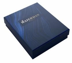 2043217cover Waterman Hemisphere Подарочный набор Перьевая ручка  GRADUATE ALLURE, цвет: черный, перо: F с чехлом