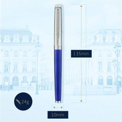 2043217 Waterman Hemisphere Перьевая ручка   Deluxe Blue Wave