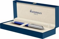 2117788 Waterman Hemisphere Шариковая ручка   French riviera Deluxe BLU LOUNGE в подарочной коробке