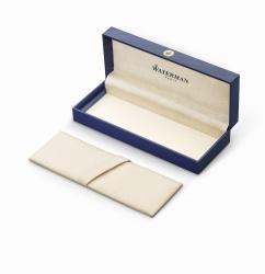 2119257 Waterman Expert Перьевая ручка  GoldF BLK в подарочной упаковке