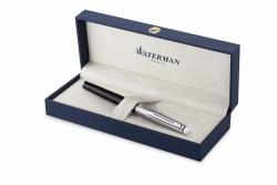 2146584 Waterman Hemisphere Ручка-роллер   Entry Point Stainless Steel with Black Lacquer в подарочной упаковке