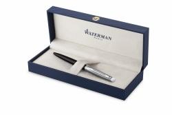 2146586 Waterman Hemisphere Шариковая ручка   Entry Point Stainless Steel with Black Lacquer в подарочной упаковке