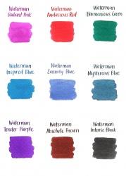 S0110940 Waterman Комплектующие Чернила в картридже  Black MINI  (в упаковке 6 картриджей)