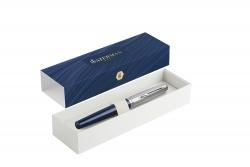 2100380 Waterman Embleme Перьевая ручка    цвет BLUE CT, цвет чернил: черный