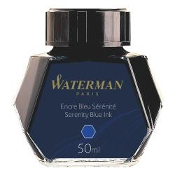 S0110720 Waterman Комплектующие Флакон с чернилами для перьевой ручки, цвет:  Blue