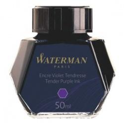 S0110750 Waterman Комплектующие Флакон с чернилами для перьевой ручки, цвет: Vio (Фиолетовый)