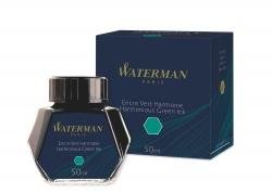 S0110770 Waterman Комплектующие Флакон с чернилами для перьевой ручки, цвет: Green