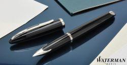S0293970 Waterman Carene Перьевая ручка, цвет: Black ST, перо: F