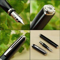 S0637010, S0637020 Waterman Exception Перьевая ручка, цвет: Slim Black ST, перо: F (FF)