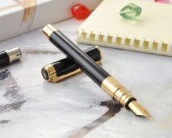 S0830800 Waterman Perspective Перьевая ручка, цвет: Black GT, перо: F