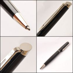 S0920570 Waterman Hemisphere Шариковая ручка, цвет: Mars Black/CT
