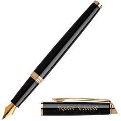 S0920610 Waterman Hemisphere Перьевая ручка, цвет: Mars Black/GT, перо: F