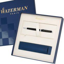 S0920870 Waterman Hemisphere Шариковая ручка, цвет: MattBlack CT, стержень: Mblue