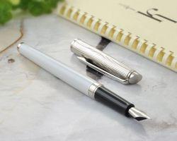 S0921250 Waterman Hemisphere Перьевая ручка   Deluxe, цвет: White CT, перо: F