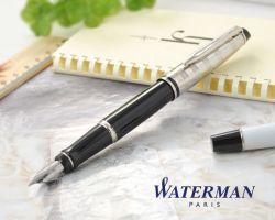 S0952300 Waterman Expert Перьевая ручка   3 DeLuxe, цвет:  Black CT, перо: F