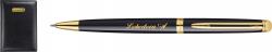 S0920670MAL Waterman Hemisphere Набор с гравировкой: Ежедневник и шариковой ручкой    Mars цвет: Black GT