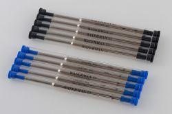 S0791000, 1964016 Waterman Комплектующие Стержень стандартный для шариковой ручки  F, цвет: синий