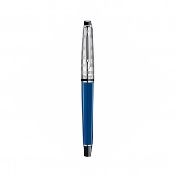 1904592 Waterman Expert Ручка-роллер  Deluxe, цвет: Blue CT Obssesion