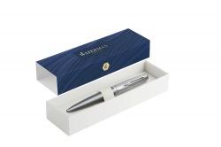 2103042 Waterman Embleme Шариковая ручка, цвет: GREY CT, стержень: Mblue