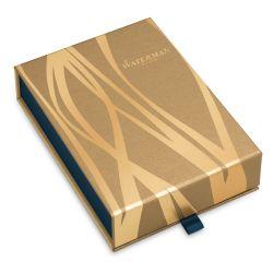 S0952000Gifts Waterman Expert Подарочный набор: Чехол и Шариковая ручка   Essential, St. Steel GT