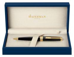 S0636960 Waterman Exception Шариковая ручка, цвет: Slim Black GT, стержень: Mblue