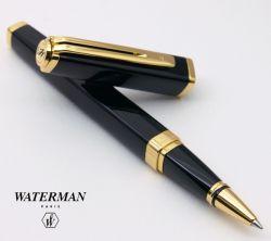 S0636930, S0636940 Waterman Exception Перьевая ручка, цвет: Slim Black GT, перо: F
