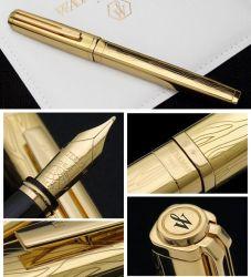 S0728990, S0729000 Waterman Exception Перьевая ручка   Solid Gold, цвет: Gold (золото),  перо: M, перо: золото 18К