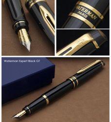 S0951640 Waterman Expert Перьевая ручка   3, цвет: Black Laque GT, перо: F