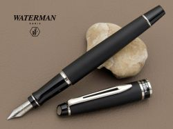 S0951840, S0951860 Waterman Expert Перьевая ручка   3, цвет: Matte Black CT, перо: F