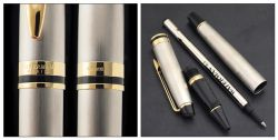 S0951980 Waterman Expert Ручка-роллер   3, цвет: Stainless Steel GT, стержень: Fblk