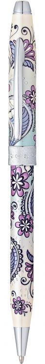 """Шариковая ручка Cross Botanica. Цвет - """"Сиреневая Орхидея""""."""