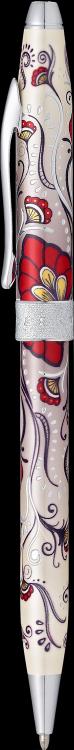 """Шариковая ручка Cross Botanica. Цвет - """"Красная Колибри""""."""
