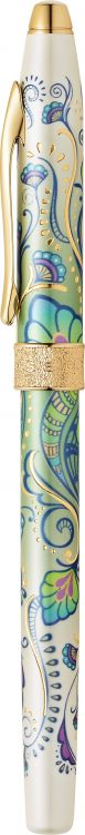 """Ручка-роллер Selectip Cross Botanica. Цвет - """"Зеленая лилия"""""""