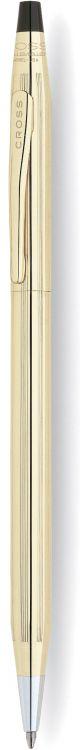 Шариковая ручка Cross Century Classic. Цвет - золотистый.