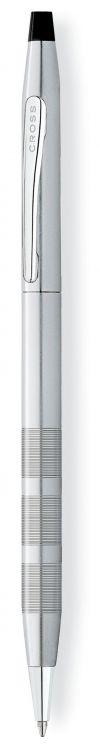 Шариковая ручка Cross Century Classic. Цвет - темно-серебристый.