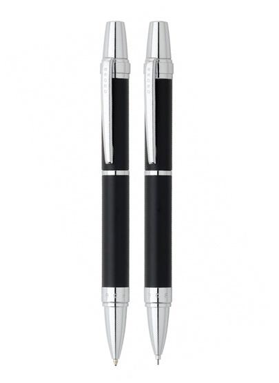 Набор Cross Nile: шариковая ручка и механический карандаш 0.7мм. Цвет - черный матовый.