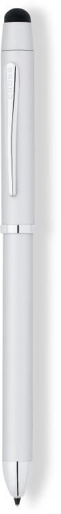 Многофункциональная ручка Cross Tech3+. Цвет - серебристый матовый.