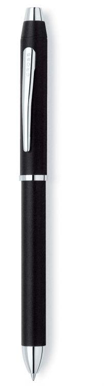Многофункциональная ручка Cross Tech3+. Цвет черный.