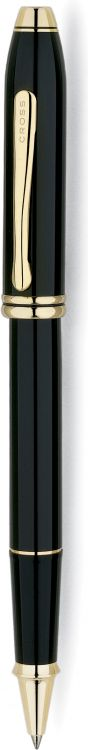 Ручка-роллер Selectip Cross Townsend. Цвет - черный.