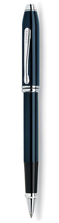Ручка-роллер Selectip Cross Townsend. Цвет - синий.