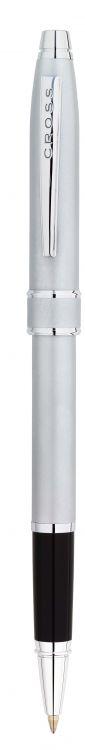 Ручка-Роллер Selectip Cross Stratford. Цвет - серебристый матовый.