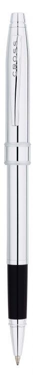 Ручка-Роллер Selectip Cross Stratford. Цвет - серебристый.
