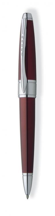 Шариковая ручка Cross Apogee. Цвет - красный.