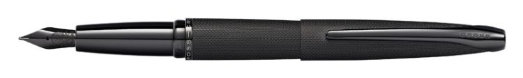 Перьевая ручка Cross ATX Brushed Black PVD