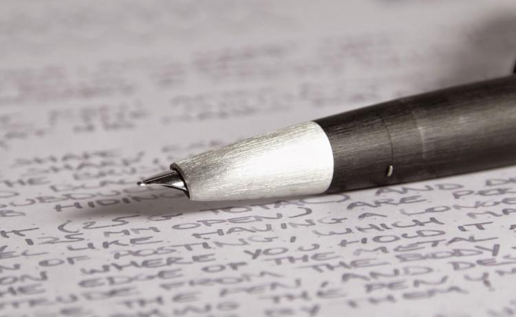 Ручка перьевая Lamy 001 2000, Черный, B