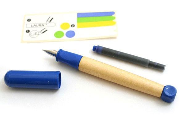 Ручка перьевая Lamy 009 ABC, Синий, LH (д/левшей)