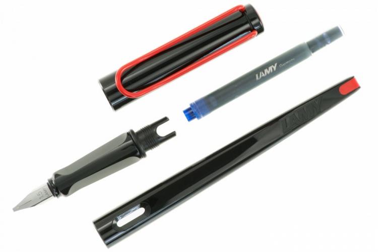 Ручка перьевая Lamy 015 joy, Черный, 1.5 mm